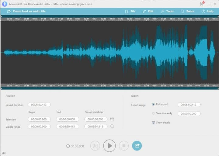 Top 10 MP3 Editor Online for Free