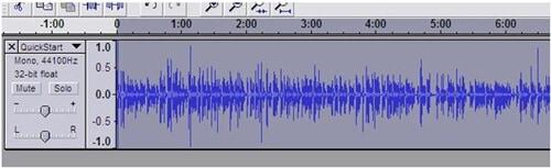 audacity cómo aumentar el volumen