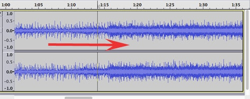 how to increase volume in audacity