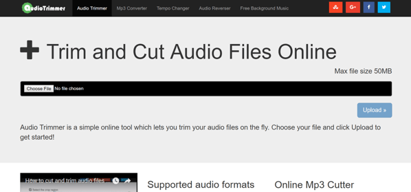 how to trim an mp3 file