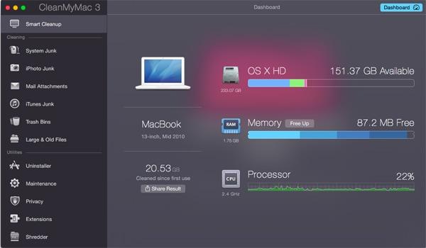 mac memory clean