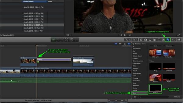 cutting video in final cut pro