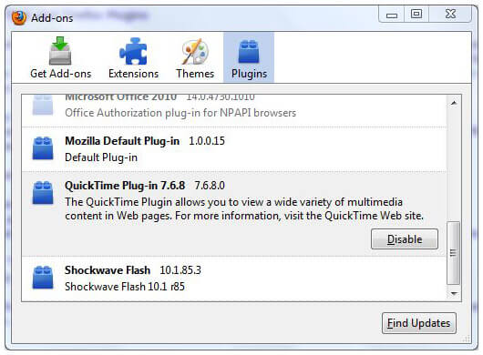 Top 12 WMV Plugin for Safari/Chrome/Firefox/QuickTime