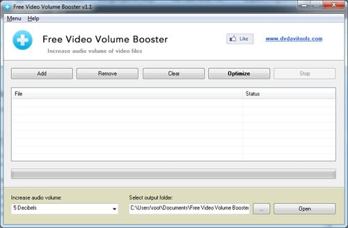 software to increase volume of video