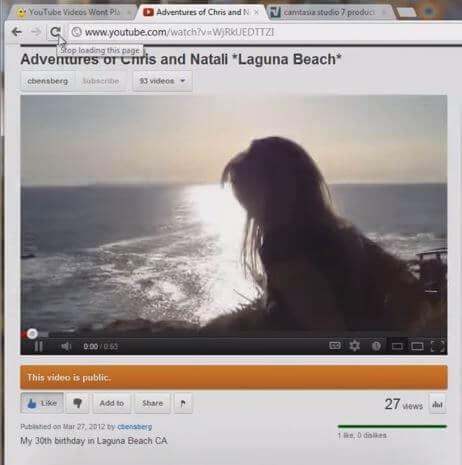 green screen on youtube