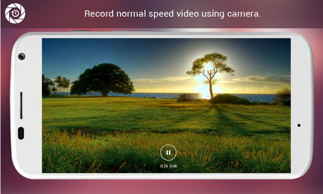 changer la vitesse de video on iphone