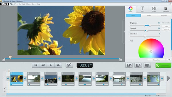 music video editor Magix Movie Edit Pro