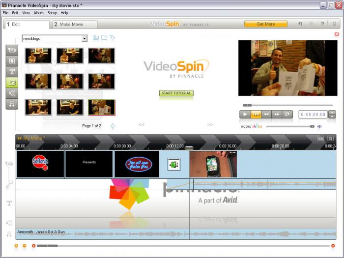 pinnacle videospin gratuit windows xp