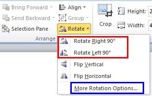how to rotate video on powerpoint