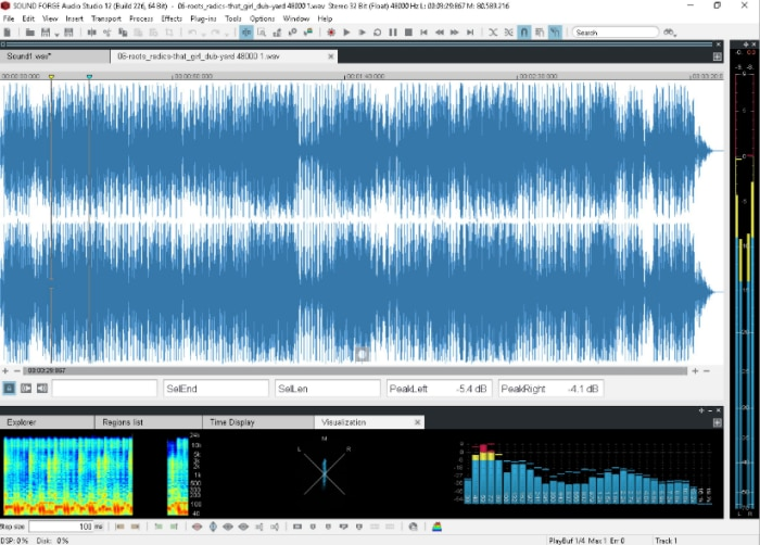 software for mp3 editing