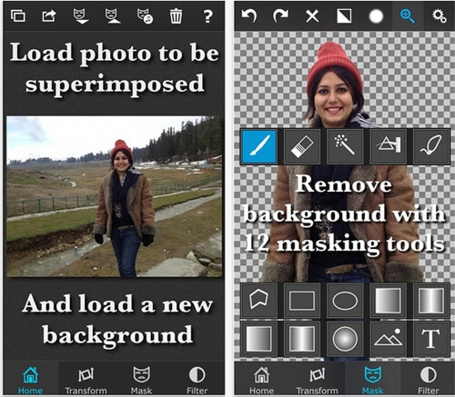 enhance video in Superimpose