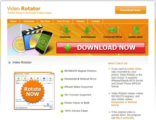 Top 10 tools to rotate video online for free video rotator ccuart Images