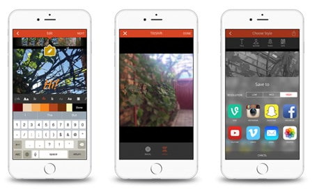 combine videos on iphone with videoshop