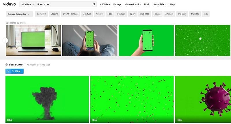 green screen digital backgrounds