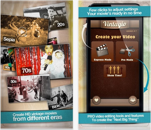 Vintagio enhance video