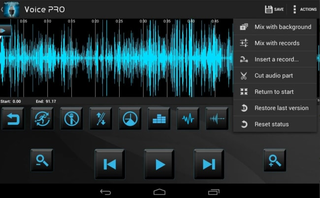 best android mp3 editor