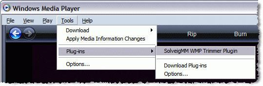 comment couper un fichier mp3 dans Windows Media Player