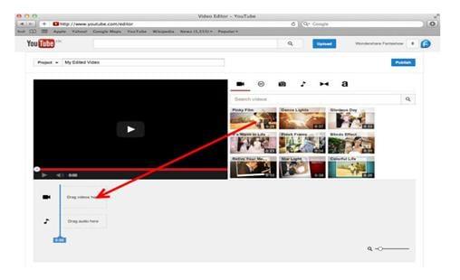 объединение видео на youtube