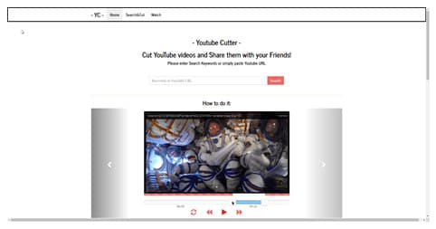 online Youtube video Cutter