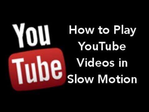 slow motion youtube