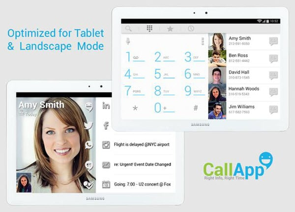 Top 5 Call Contact App for Android