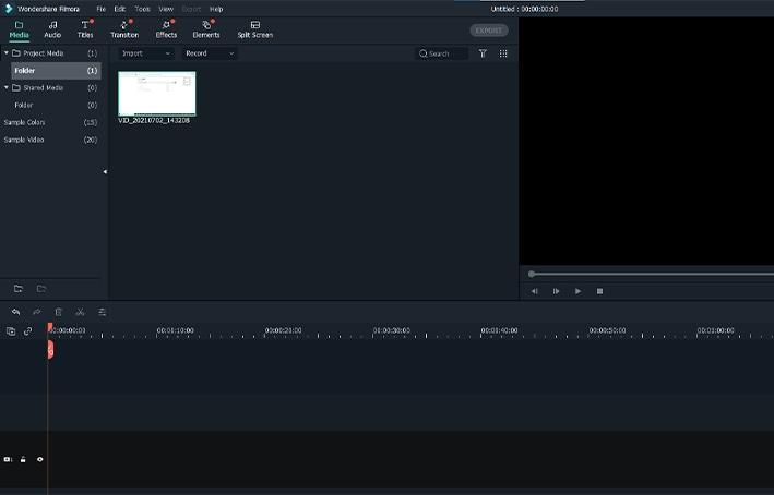 edot recorded file