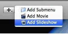 create idvd slideshow4