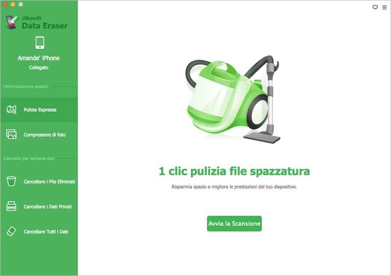 iskysoft data eraser per mac