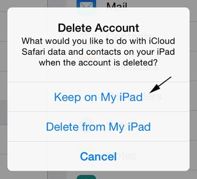 How to Delete iCloud from iPad Easily