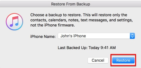 clean restore iPhone without losing data