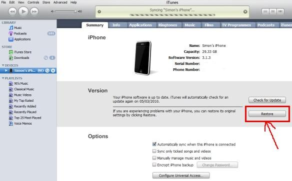 clear iphone 4 when locked