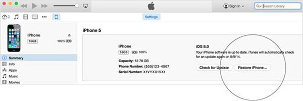 How to Wipe an iPhone 5 without Apple ID