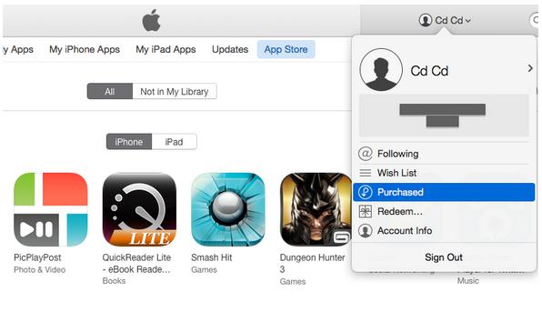 delete iphone app store