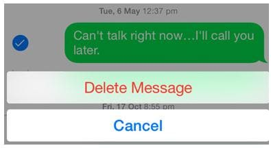 How to Delete Messages on iPhone 7, iPhone 6s, iPhone 5 etc.