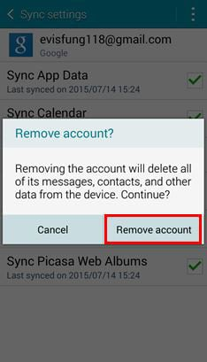 delete google or gmail account