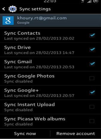 delete picase on android