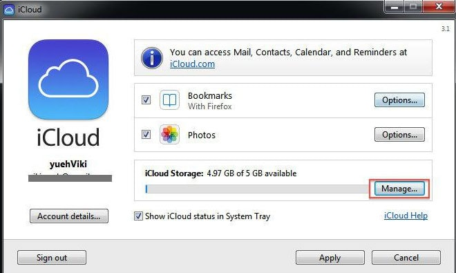 delete pictures from icloud