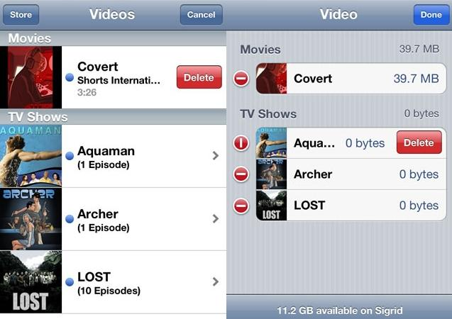 How to Delete Videos from iPad