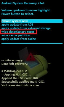 reset Android phone
