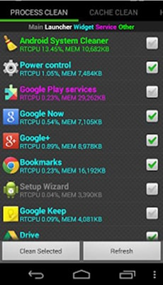 system cleaner for Android