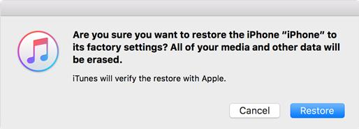 How to Wipe iPhone from iTunes