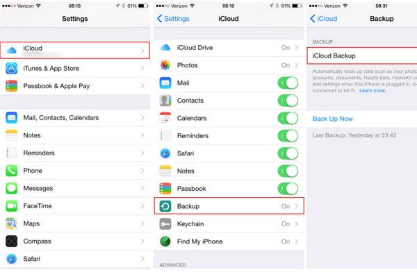 how to start using icloud