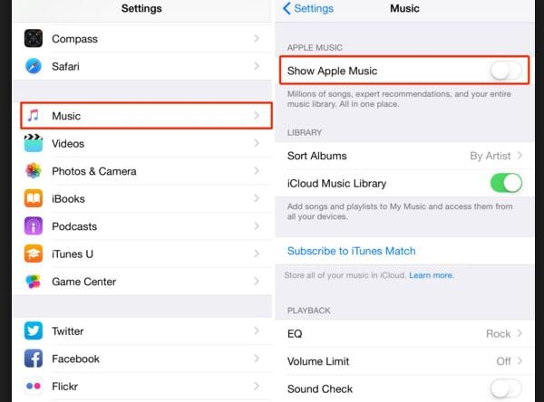 how to delete undownloaded songs on iphone