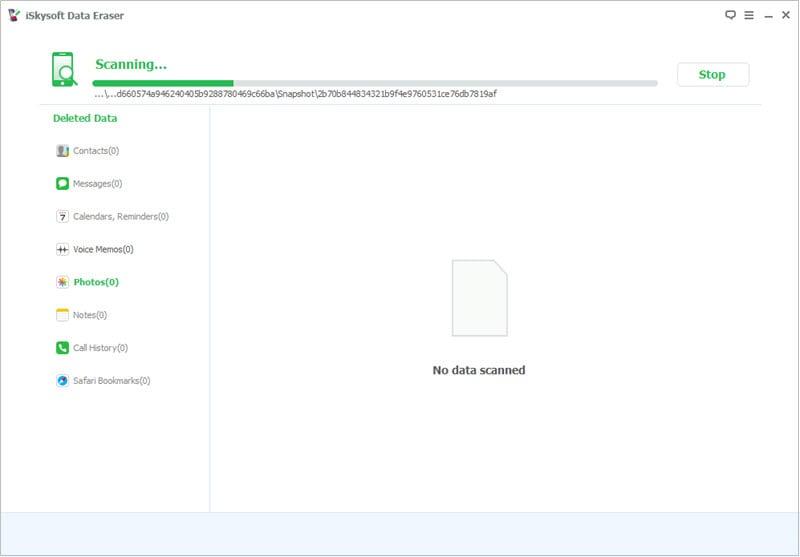 scan phone data
