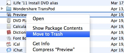 how to delete programs on mac