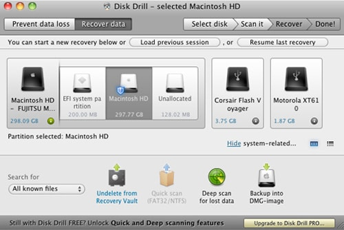 Top 5 Datenwiederherstellungstools f&uumlr Mac OS X El Capitan