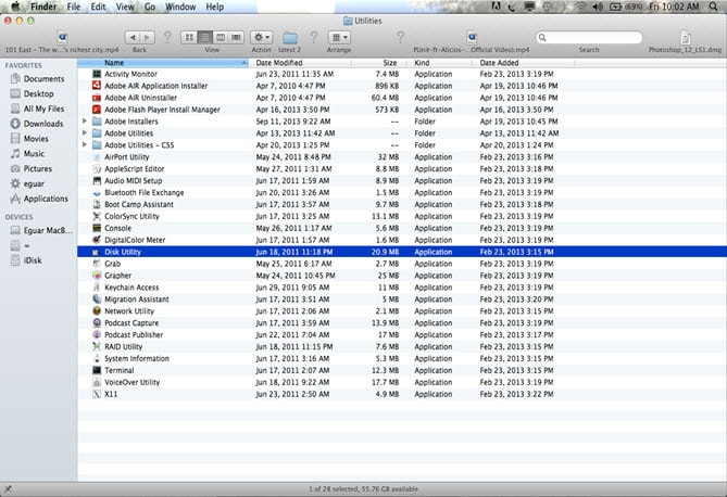 format fat32 mac