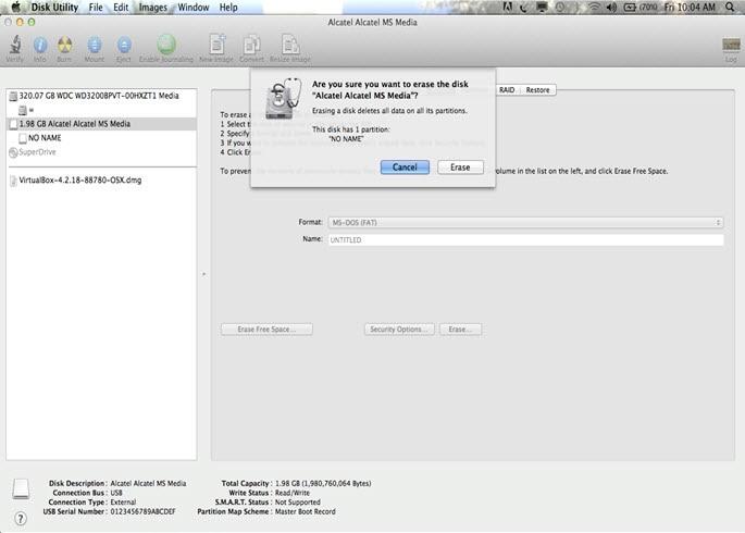 formater fat32 sur mac