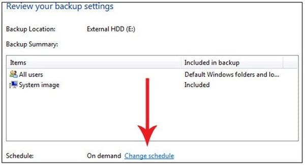 external hard drive backup software