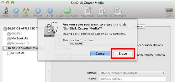 formatting external hard drive for mac